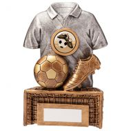 Spirit Football Boot and Ball Trophy Award 145mm : New 2020