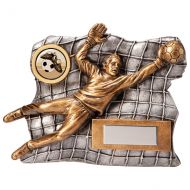 Advance Goalkeeper Football Trophy Award 120mm : New 2020