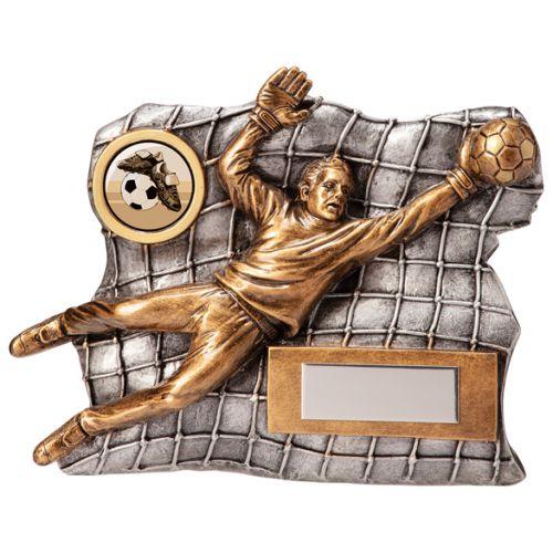 Advance Goalkeeper Football Trophy Award 120mm : New 2020