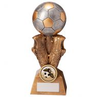 Summit Football Boot and Ball Trophy Award 175mm : New 2020