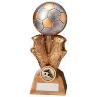 Summit Football Boot and Ball Trophy Award 190mm : New 2020