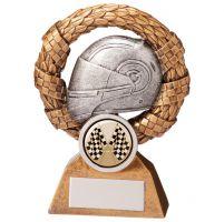 Monaco Wreath Motorsport Helmet Trophy Award 110mm : New 2020