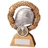 Monaco Wreath Motorsport Helmet Trophy Award 130mm : New 2020