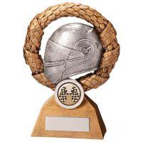 Monaco Wreath Motorsport Helmet Trophy Award 150mm : New 2020