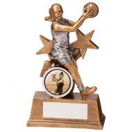 Warrior Star Netball Trophy Award 125mm : New 2020