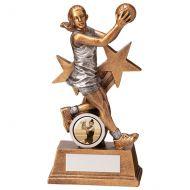 Warrior Star Netball Trophy Award 165mm : New 2020