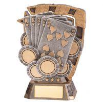 Euphoria Poker Trophy Award 130mm : New 2020