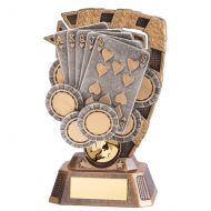 Euphoria Poker Trophy Award 150mm : New 2020