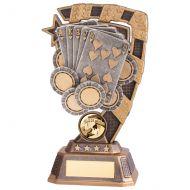 Euphoria Poker Trophy Award 180mm : New 2020