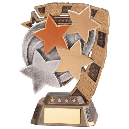 Euphoria Achievement Stars Trophy Award 130mm : New 2020