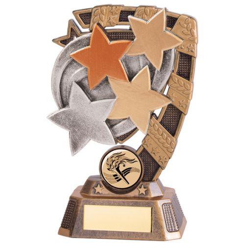 Euphoria Achievement Stars Trophy Award 150mm : New 2020