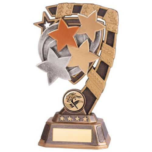 Euphoria Achievement Stars Trophy Award 180mm : New 2020