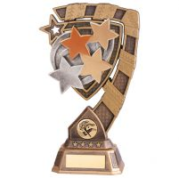 Euphoria Achievement Stars Trophy Award 210mm : New 2020