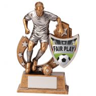 Galaxy Football Fair Play Trophy Award 125mm : New 2020