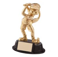 The Wonky Donkey Golf Humorous Trophy Award Male 150mm