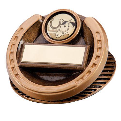 The Endurance Horse Shoe Trophy Award 45mm