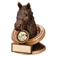 The Endurance Horse Head Trophy Award 125mm