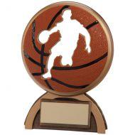 Shadow Basketball Trophy Award 140mm
