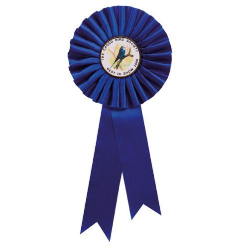 Blue Rosette 255mm