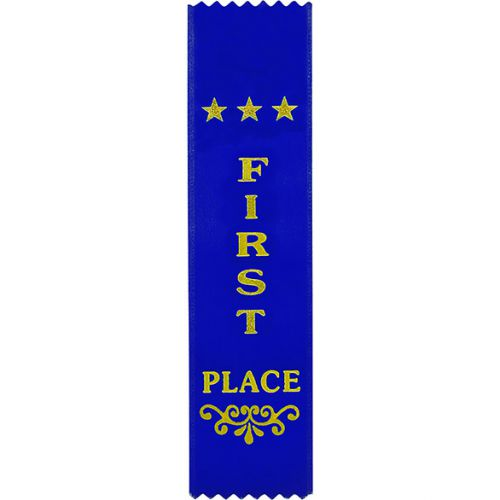 1st Place Blue Ribbon 200 x 50mm