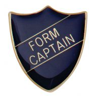 Scholar Pin Badge Form Captain Blue 25mm