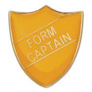 Scholar Pin Badge Form Captain Yellow 25mm