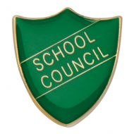 Scholar Pin Badge School Council Green 25mm