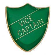 Scholar Pin Badge Vice Captain Green 25mm