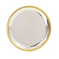 Montrose Silver and Gold Salver 100mm