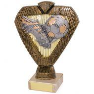 Hero Legend Football Trophy Award Boot and Ball 165mm