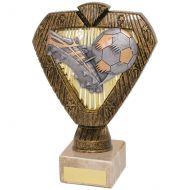 Hero Legend Football Trophy Award Boot and Ball 180mm