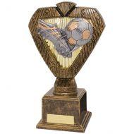 Hero Legend Football Trophy Award Boot and Ball 200mm