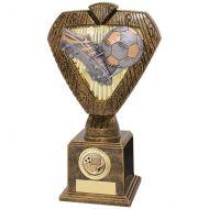 Hero Legend Football Trophy Award Boot and Ball 215mm