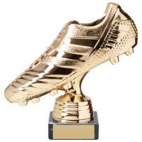 World Striker Premium Football Boot Trophy Award Gold 150mm : New 2020