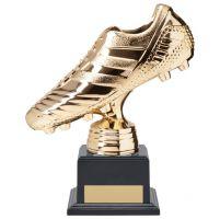 World Striker Premium Football Boot Trophy Award Gold 185mm : New 2020