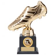 World Striker Premium Football Boot Trophy Award Gold 200mm : New 2020