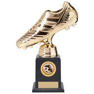 World Striker Premium Football Boot Trophy Award Gold 220mm : New 2020
