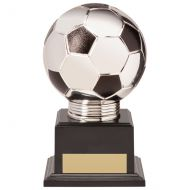 Valiant Legend Football Trophy Award Silver and Black 145mm : New 2020