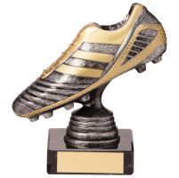 World Striker Legend Football Boot Silver and Gold 125mm : New 2020