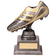 World Striker Legend Football Boot Silver and Gold 145mm : New 2020