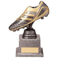 World Striker Legend Football Boot Silver and Gold 155mm : New 2020