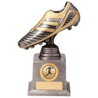 World Striker Legend Football Boot Silver and Gold 175mm : New 2020