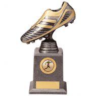 World Striker Legend Football BootSilver and Gold 195mm : New 2020