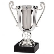Champions Silver Plastic Cup 130mm Trophy Award