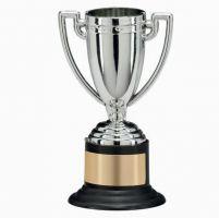 Goliath Plastic Presentation Cup Silver 100mm