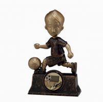 The Rising Star Plastic Football Trophy Award 105mm