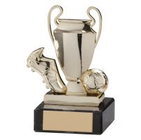 Champions Cup Football Trophy Award Gold 100mm