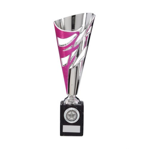 Razor Pink and Silver Presentation Cup 285mm