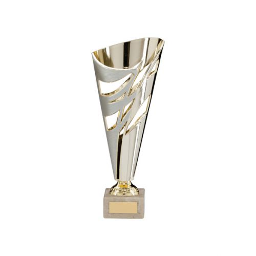 Razor Silver and Gold Presentation Cup 240mm