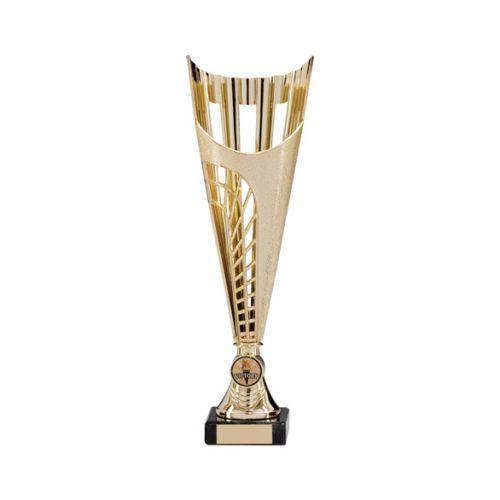 Garrison Plastic Laser Cut Presentation Cup Gold 315mm